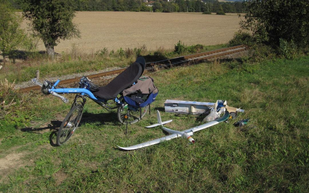 AZUB Max transporting glider