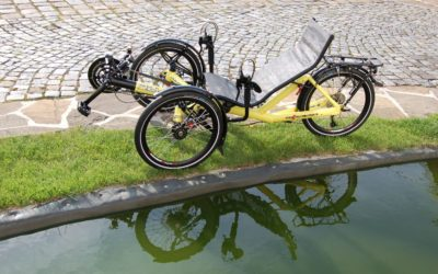 Custom ECO trike built for Czech customer