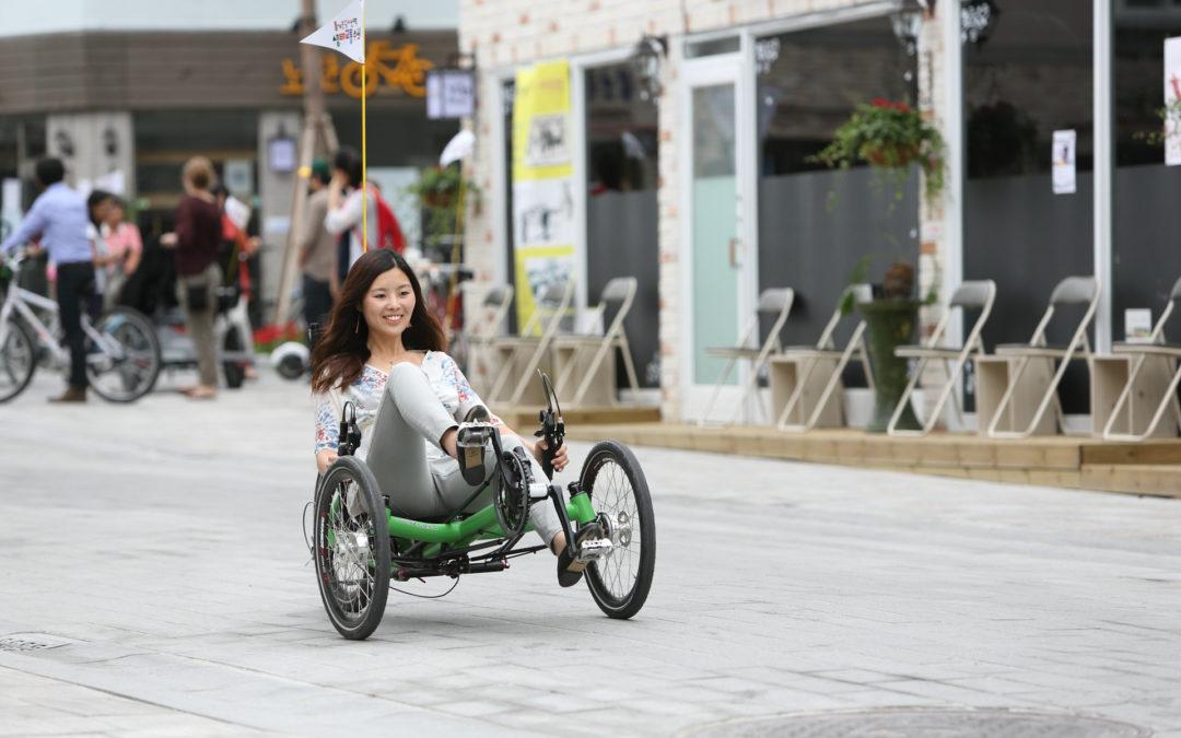 AZUB on Eco Mobility Festival in Suwon City, South Korea