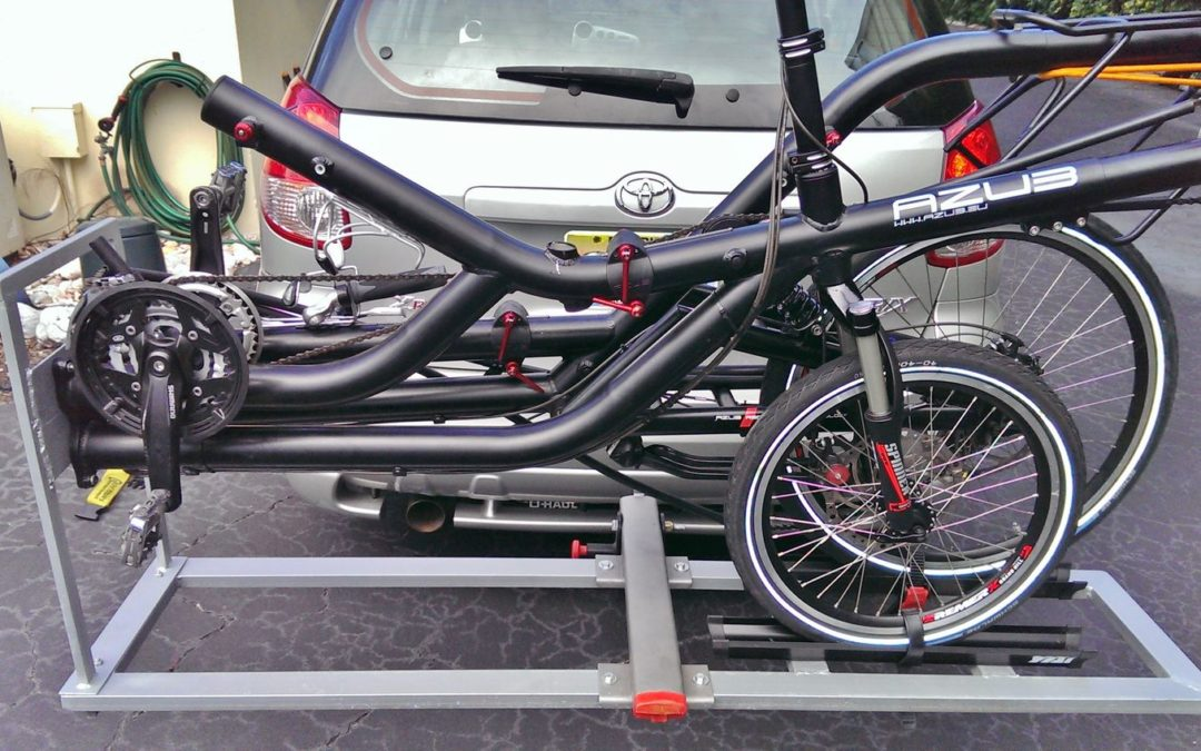 "AZUB Twin ""hitch type"" bike carrier"