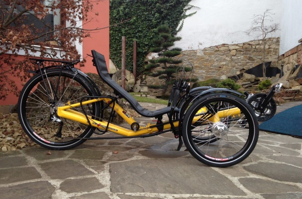 "Photos of the new T-Tris 26"" trike"