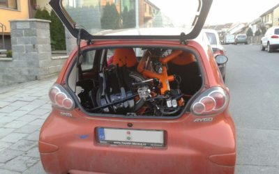 How to transport the AZUB TWIN recumbent tandem by car