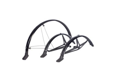 Set of mudguards for trikes