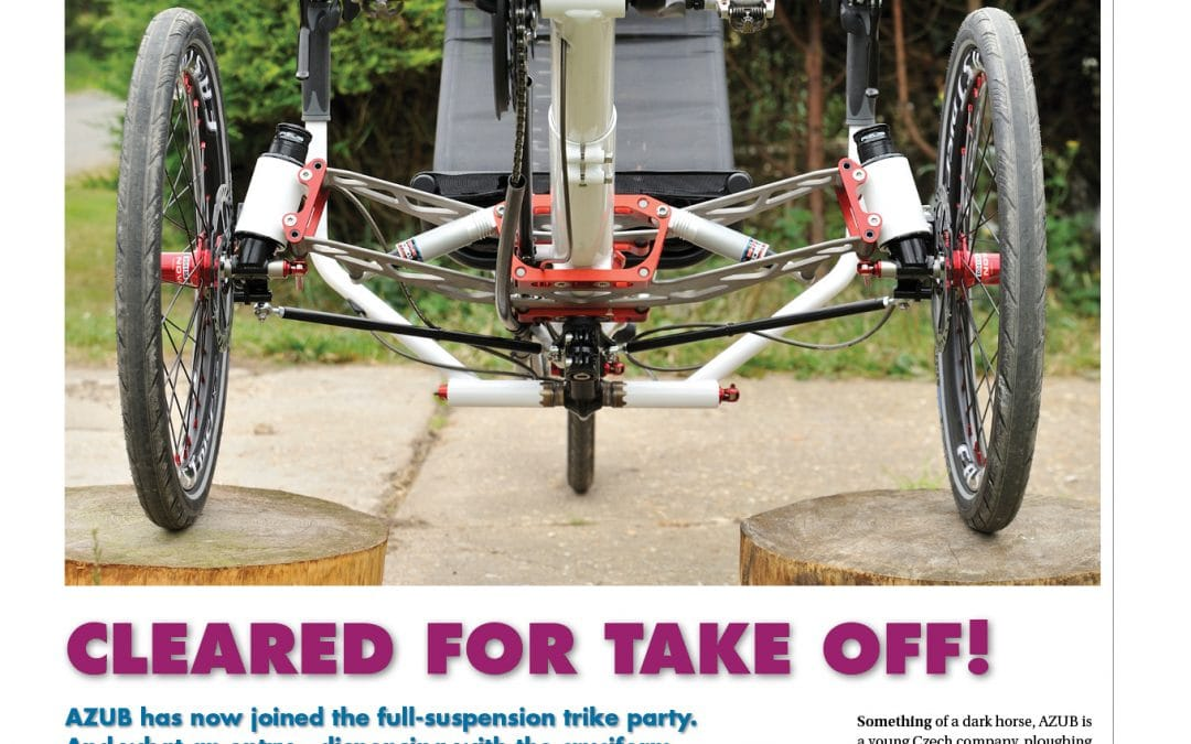 Read the amazing review of the Ti-FLY published in Velo Vision magazine