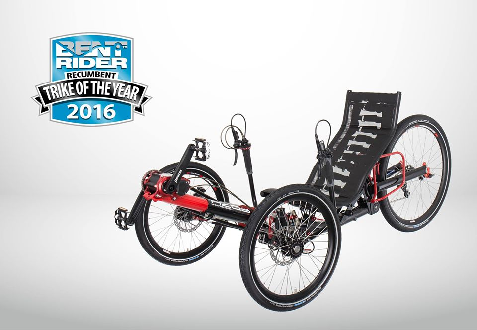 Trike of the Year 2016 award for the Ti-FLY
