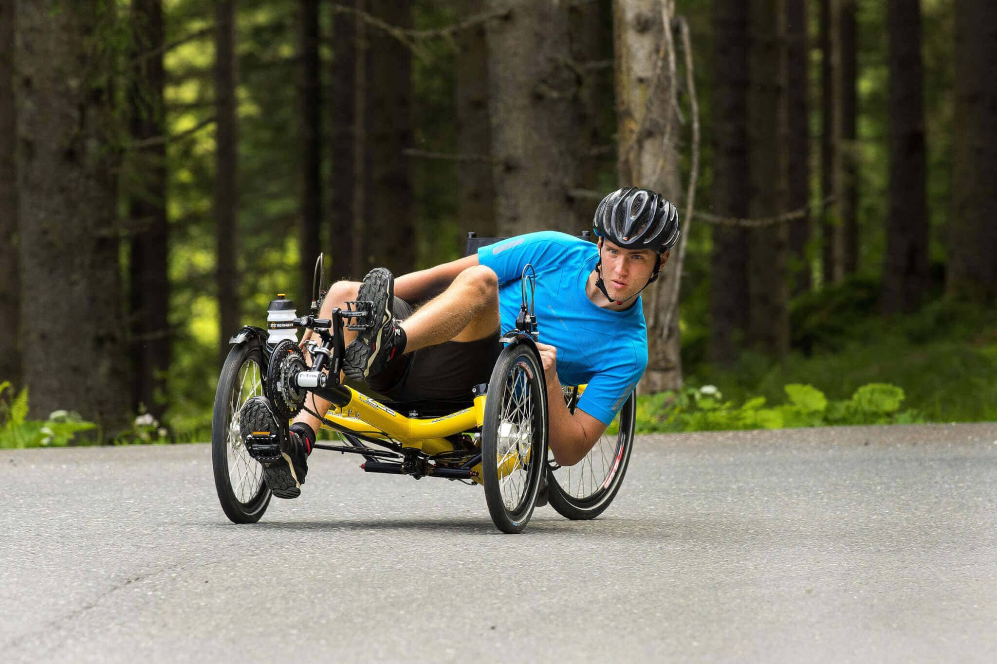 T-Tris 26 our fastest recumbent trike | Build your own | AZUB recumbents