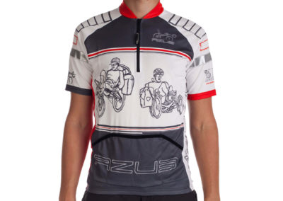 Jersey for recumbent riders AZUB