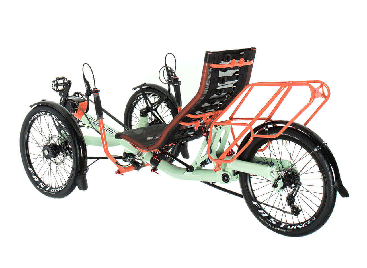 TRIcon 20 recumbent trike | Build your own | AZUB recumbents