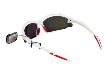 Eyewear mounted mirror