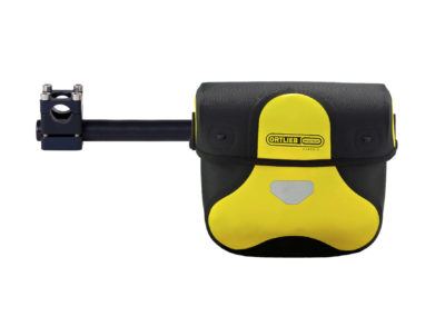 Handlebar bag bracket with Ortlieb Ultimate