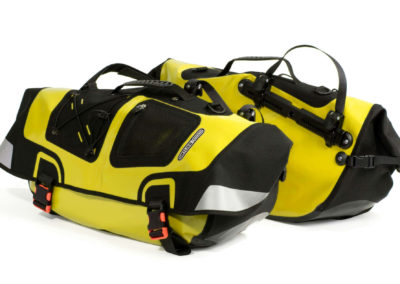 Ortlieb waterproof panniers for recumbents