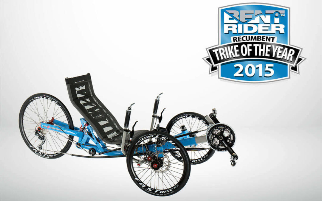 Trike of the Year 2015 award for the TRIcon
