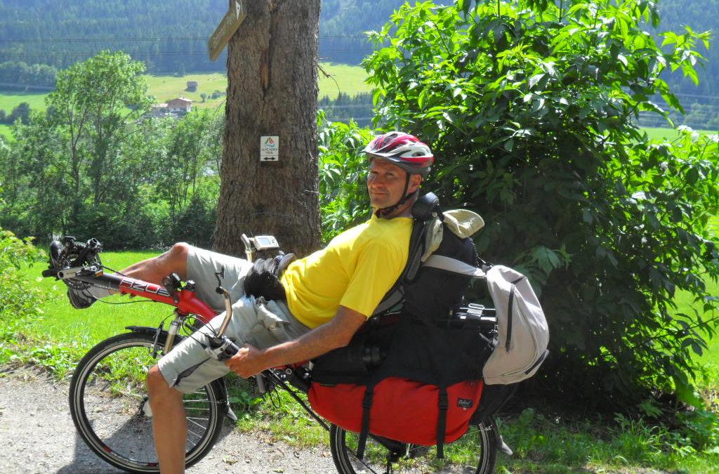 Tauernradweg and the Alpe-Adria Radweg with AZUB Ibex recumbent