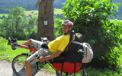 Tauernradweg and the Alpe-Adria Radweg with AZUB Ibex recumbent