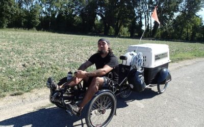 Tricycle Tour and their first short little story