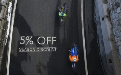 Don't miss it! Last days of the 5% season discount