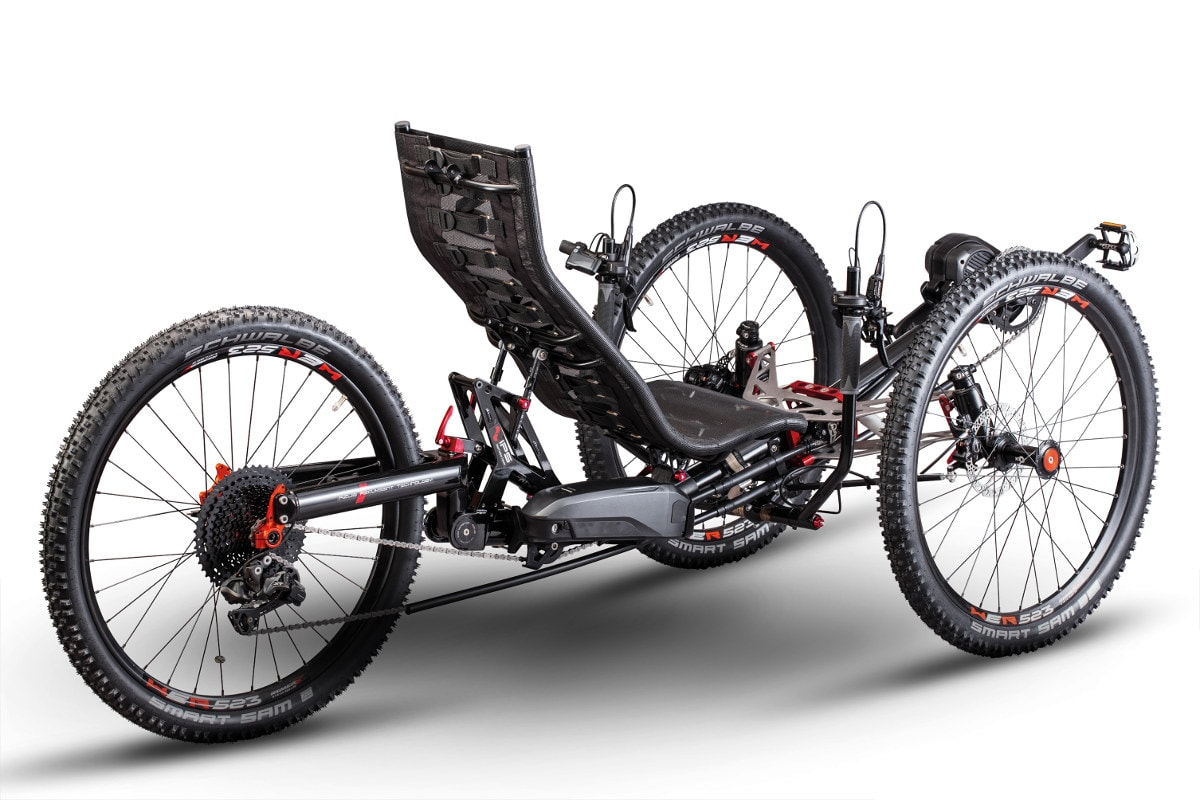 Ti-FLY X recumbent trike | Build your own