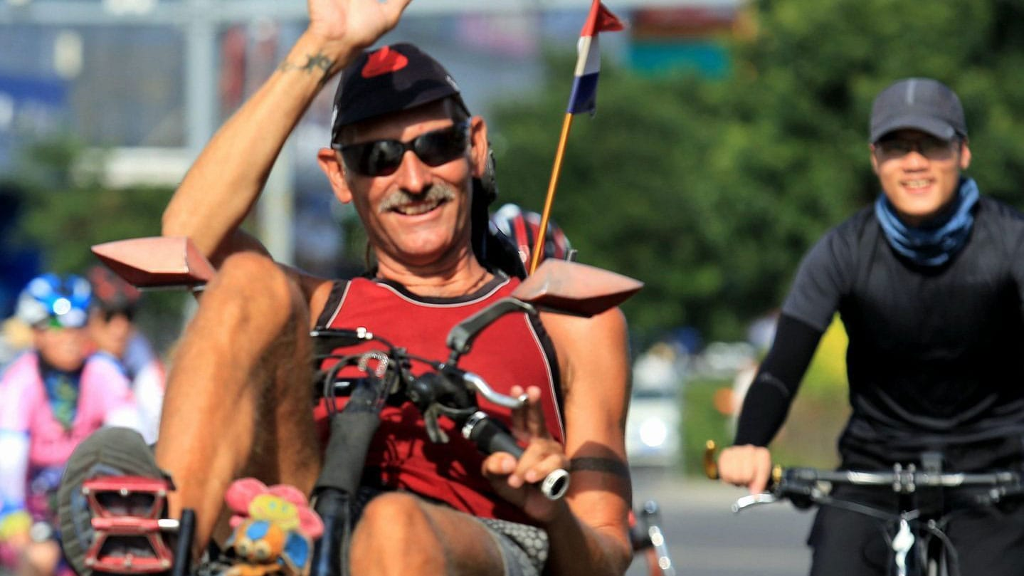 Richard Haket - story of one recumbent rider