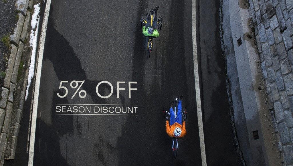 5% Off-season Discount