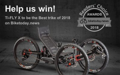 HELP US WIN THE BEST TRIKE OF 2018!