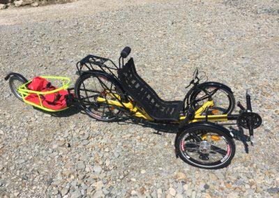 TRIcon 26 s vozíkem – žlutý