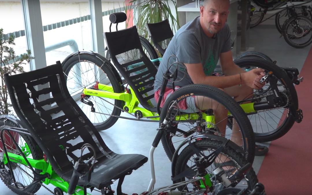 Krátké video: Proč jezdit na lehokole