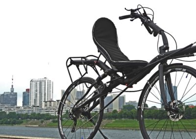 azub max 799 is a fast recumbent bike for touring