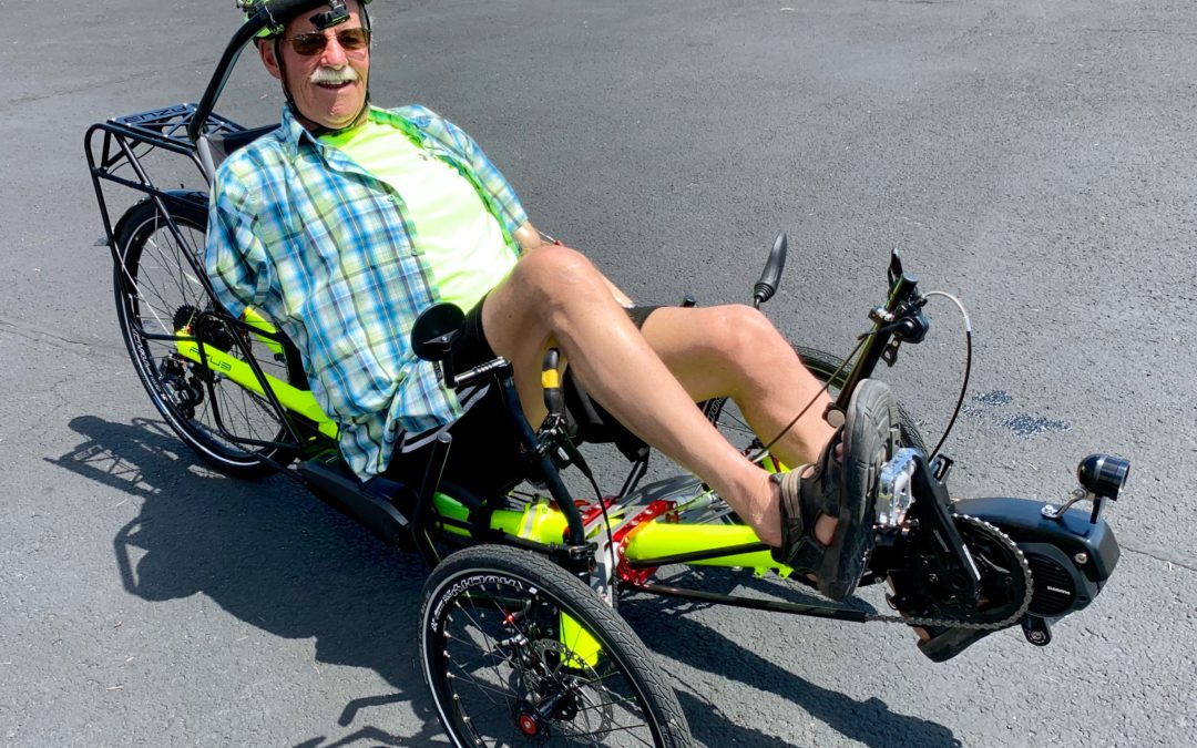 Riding with no arms? YES, it is possible!