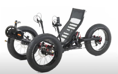 The T-FLY X with FAT tires