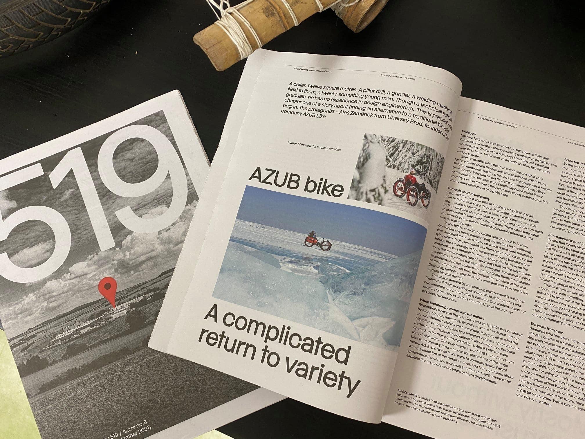 Design magazine 519 from EGOE